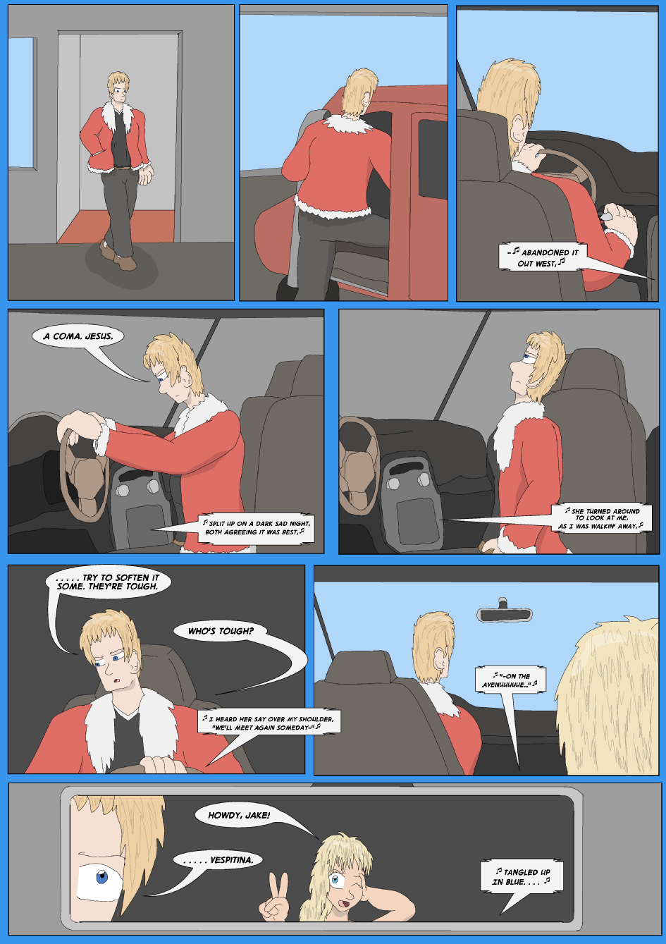 Tangled Up In Blue, Page 2