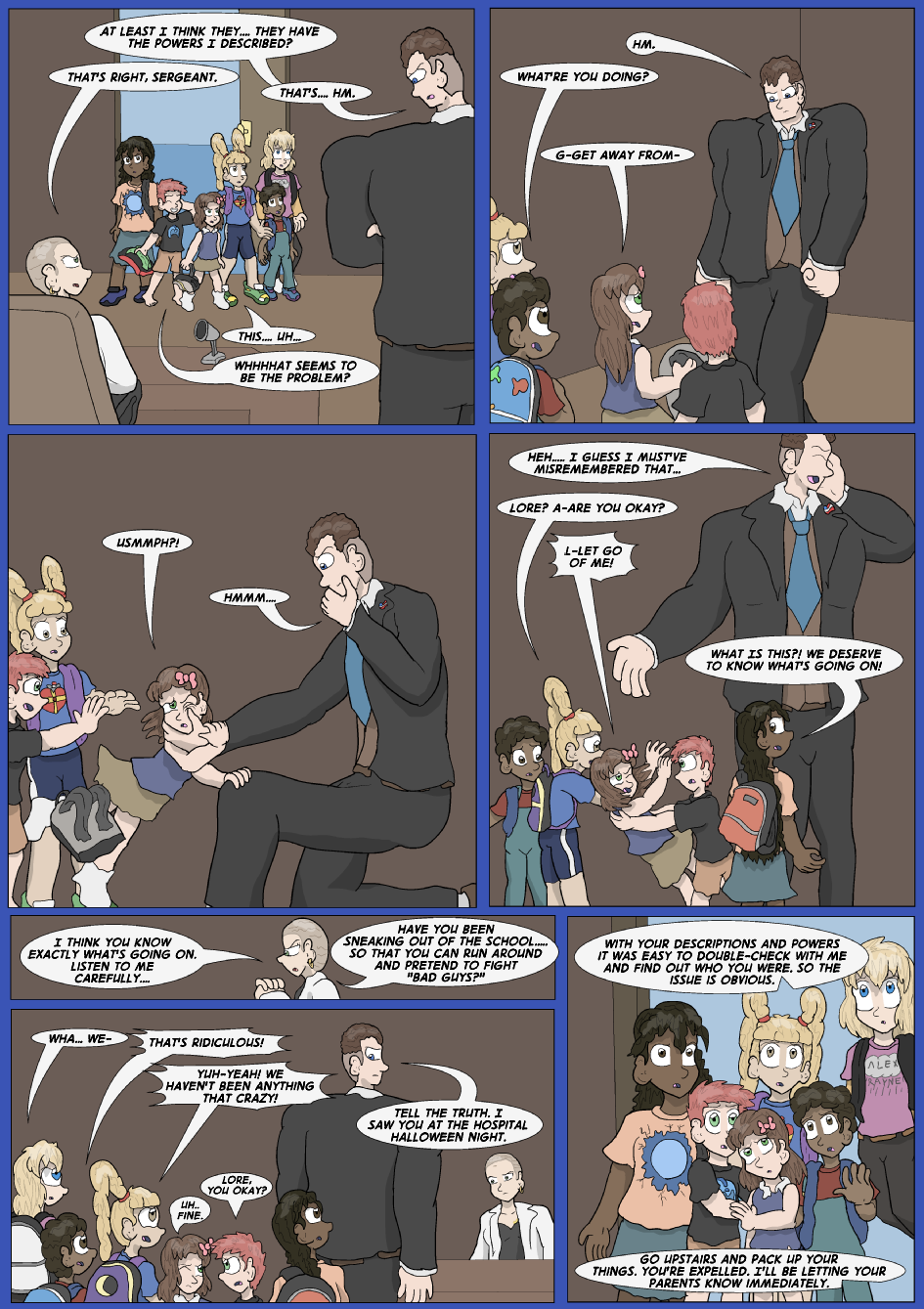 Showing Your Blue Colors- Page 4