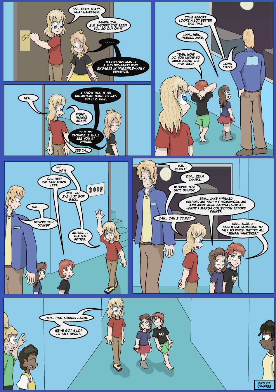 Lock Blue Up- Page 23