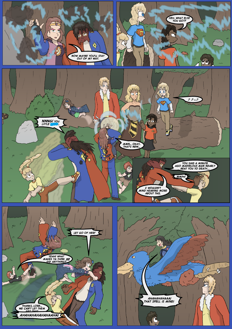 The Lost Spell of Baron Fontainebleu, Page 7