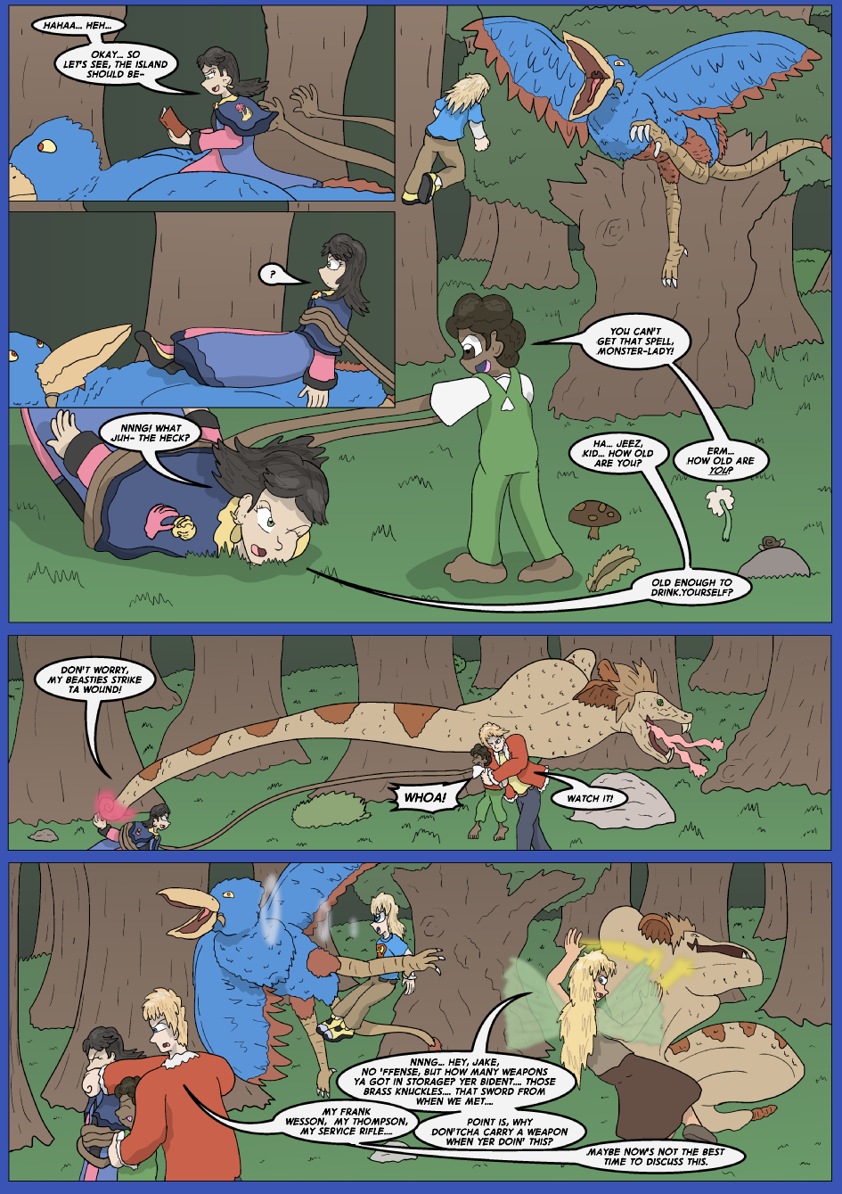 The Lost Spell of Baron Fontainebleu, Page 8