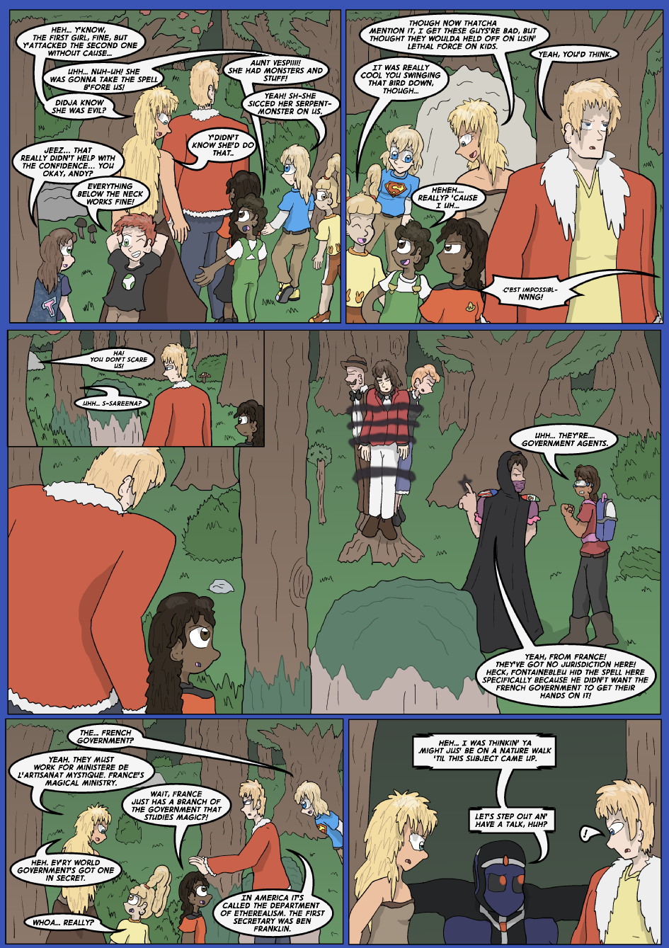 The Lost Spell of Baron Fontainebleu, Page 10