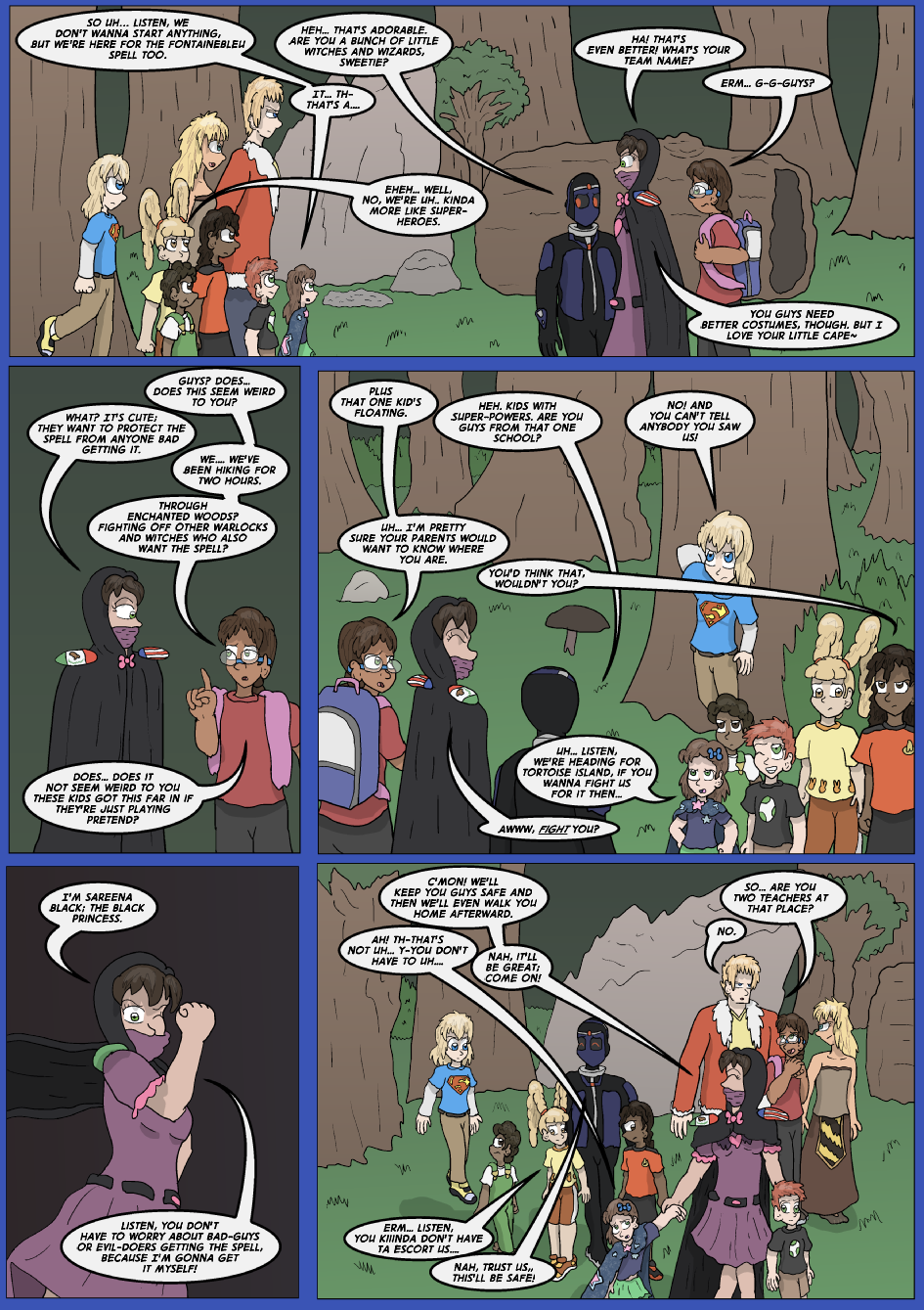 The Lost Spell of Baron Fontainebleu, Page 11
