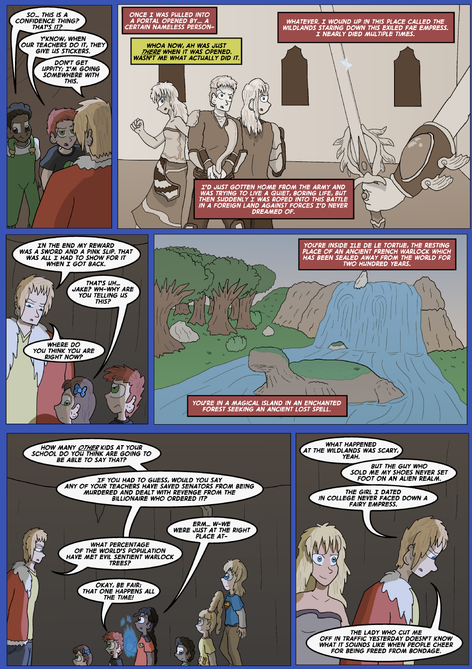 The Lost Spell of Baron Fontainebleu, Page 23