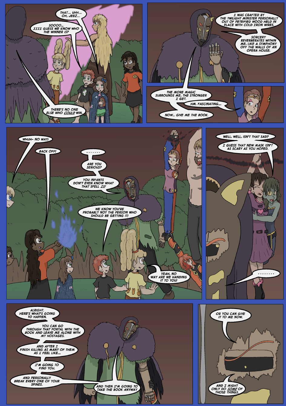 The Lost Spell of Baron Fontainebleu, Page 26