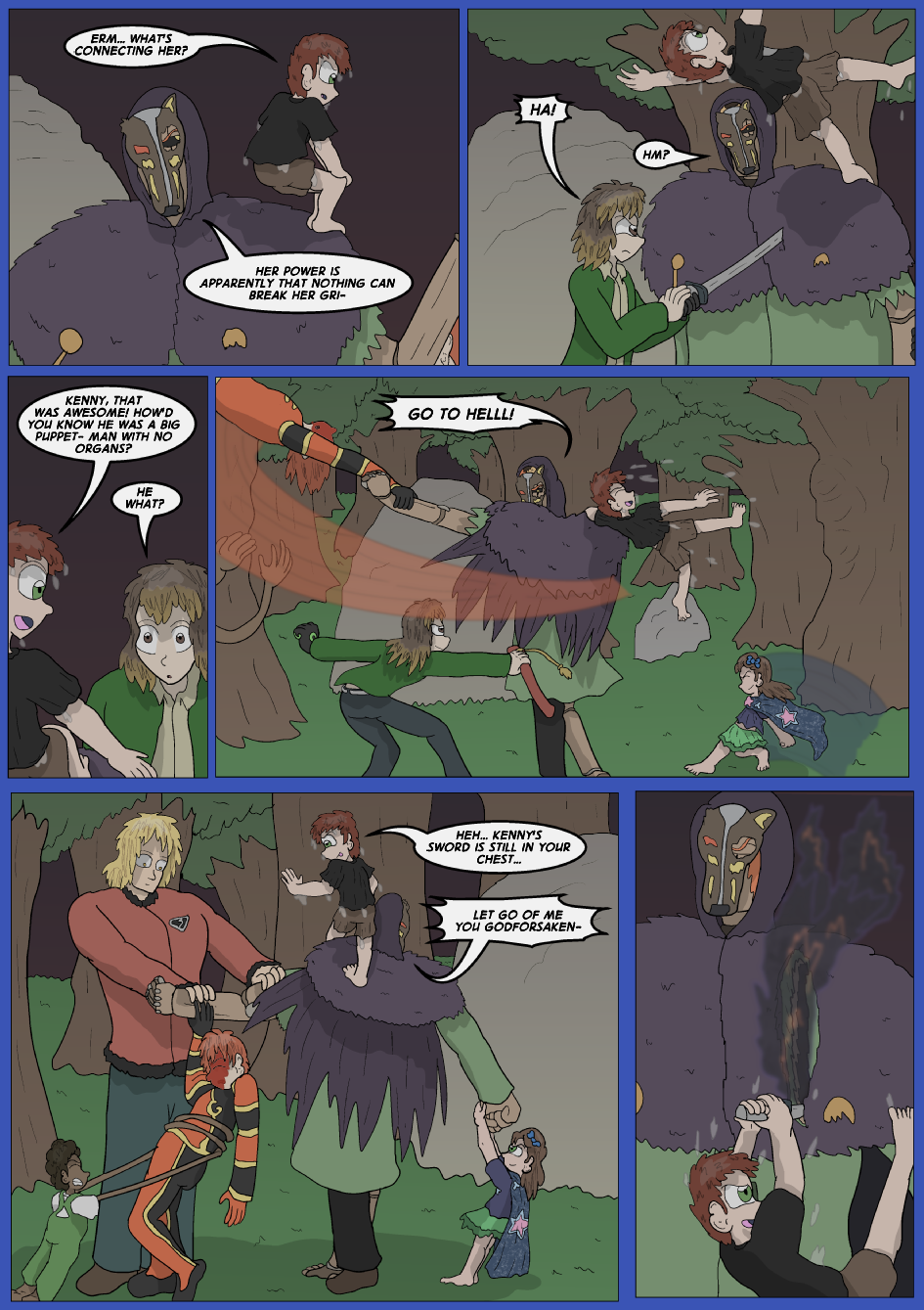 The Lost Spell of Baron Fontainebleu, Page 31