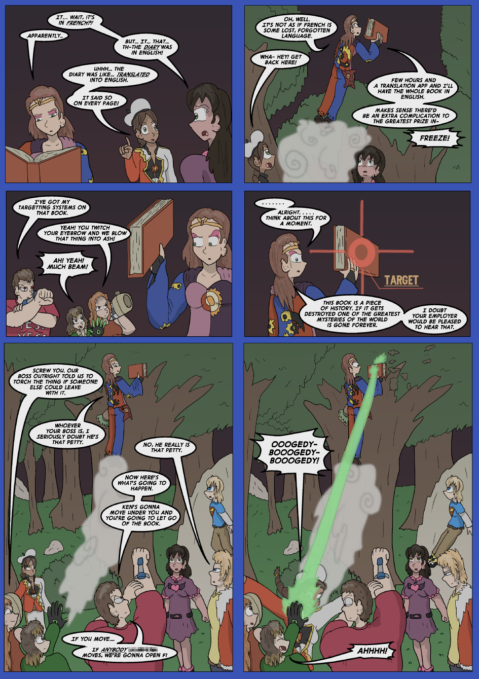 The Lost Spell Of Baron Fontainebleu, Page 37