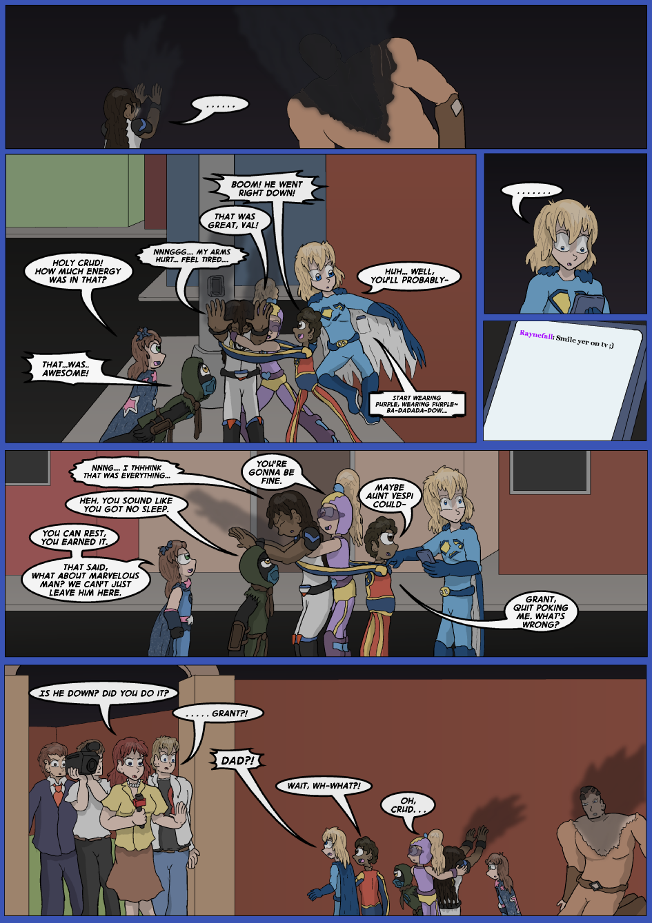 Blue vs. Gold, Page 27