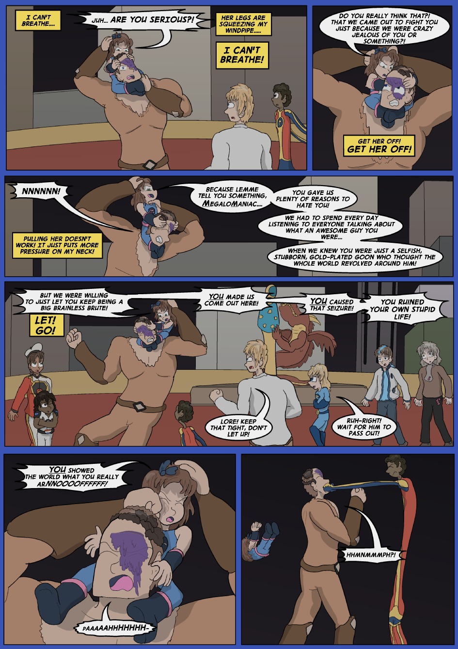 Blue vs. Gold, Page 39