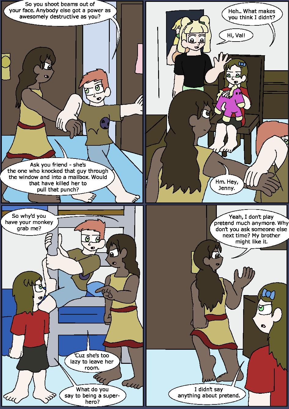Heroes Wear Blue, Page 2