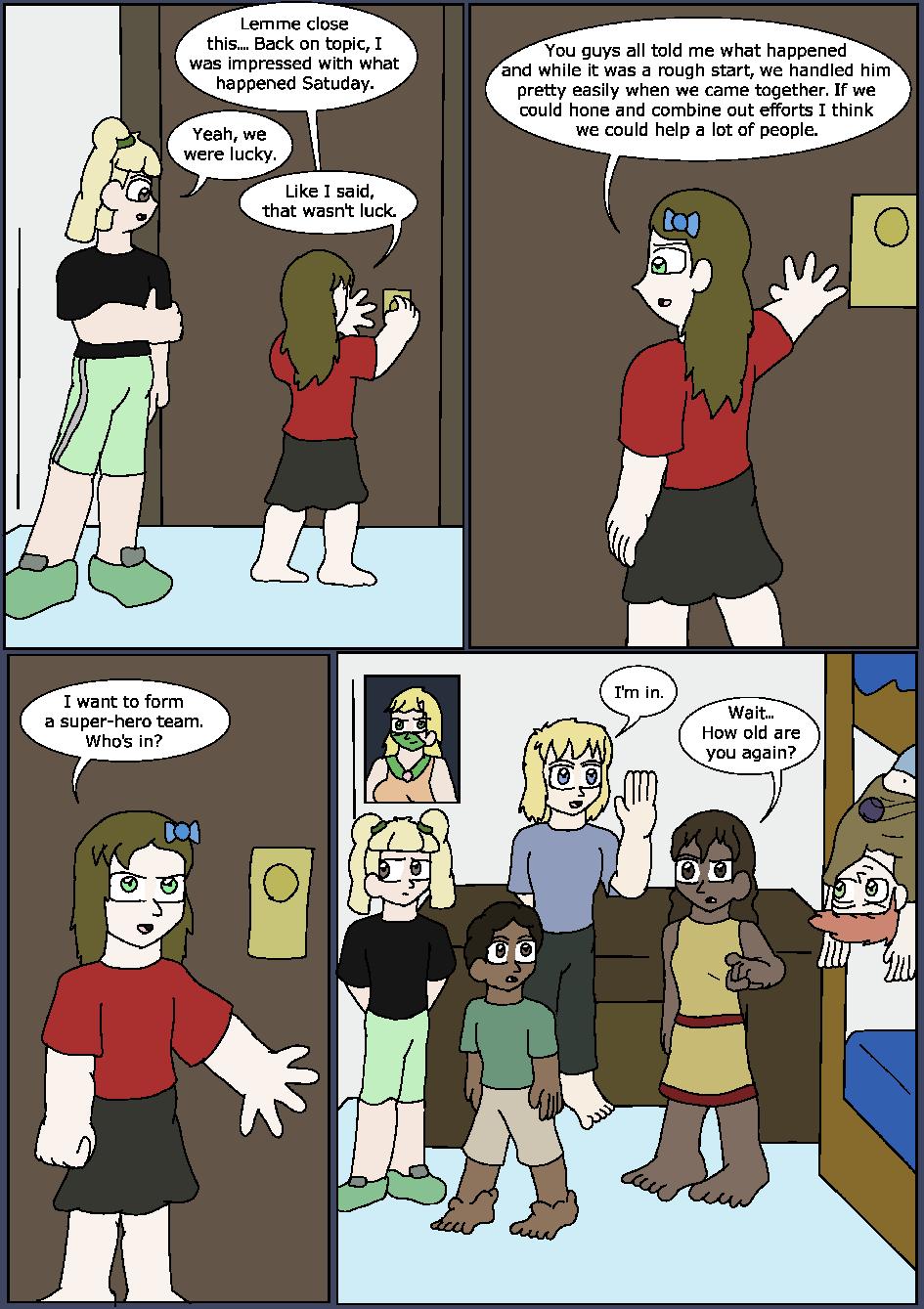Heroes Wear Blue, Page 4