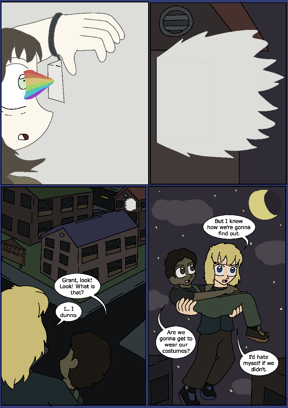 Shining Blue Light, Page 21