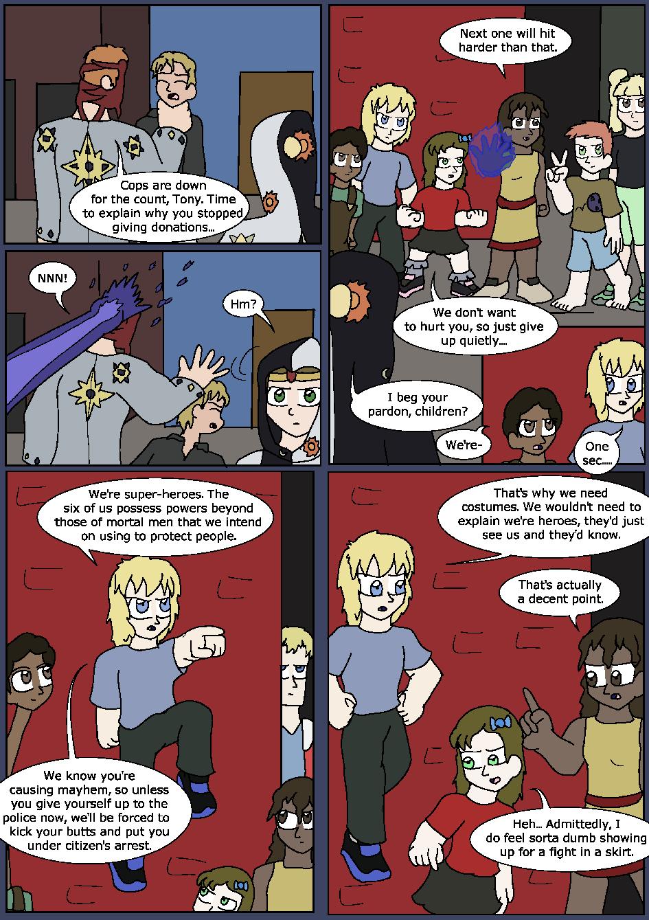 Heroes Wear Blue, Page 21