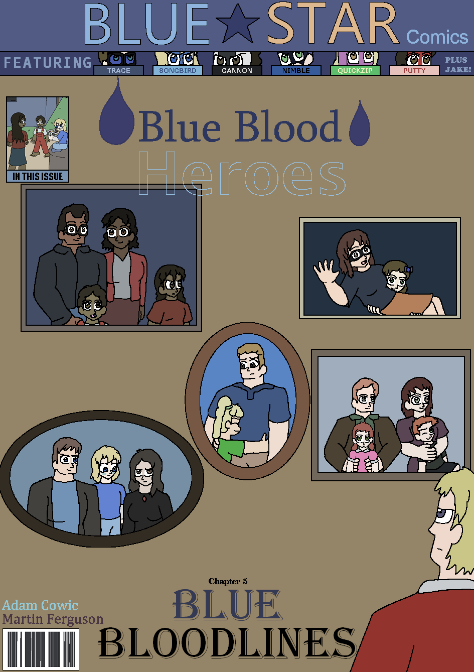 Blue Bloodlines, Cover