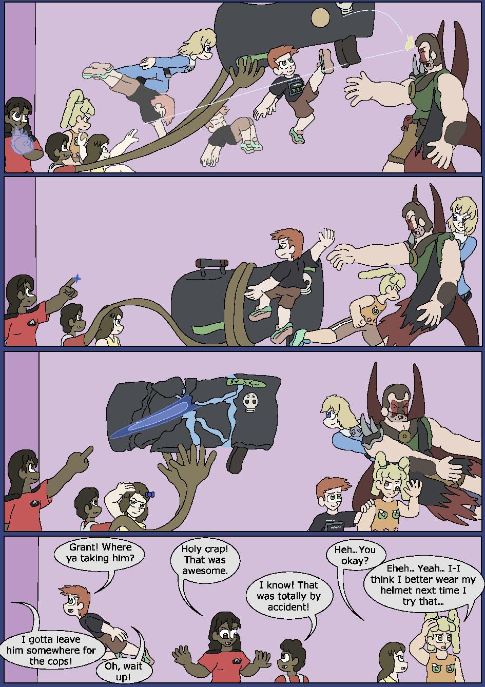 Darker Blue, Page 19
