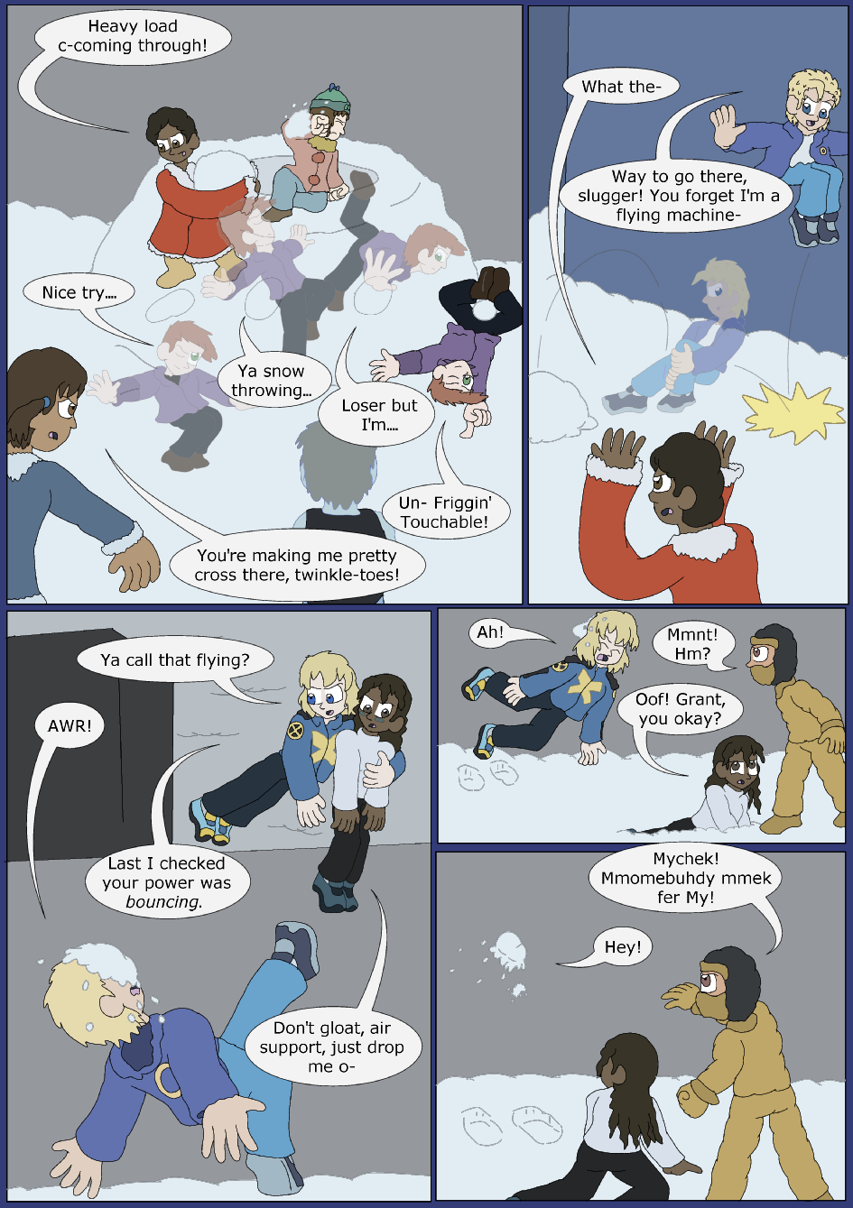 Icy Blue, Page 10