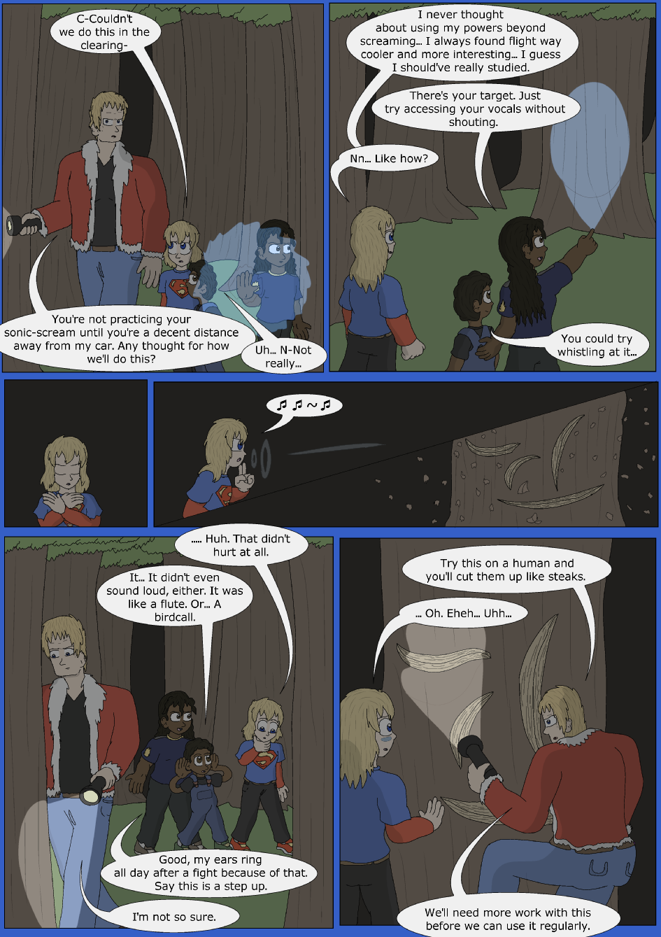 Stronger, Faster, Bluer, Page 7er