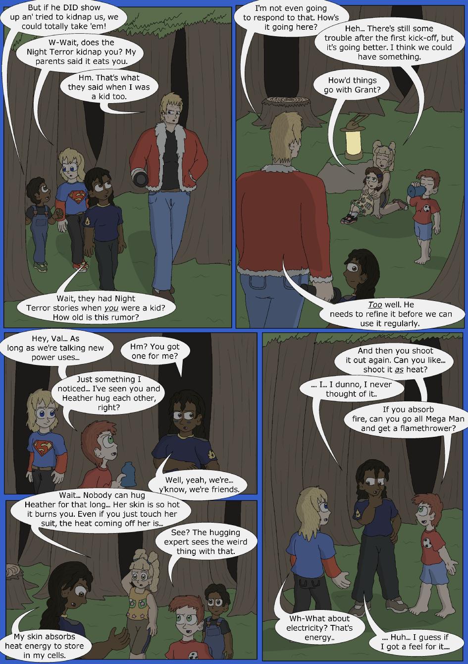 Stronger, Faster, Bluer, Page 9er
