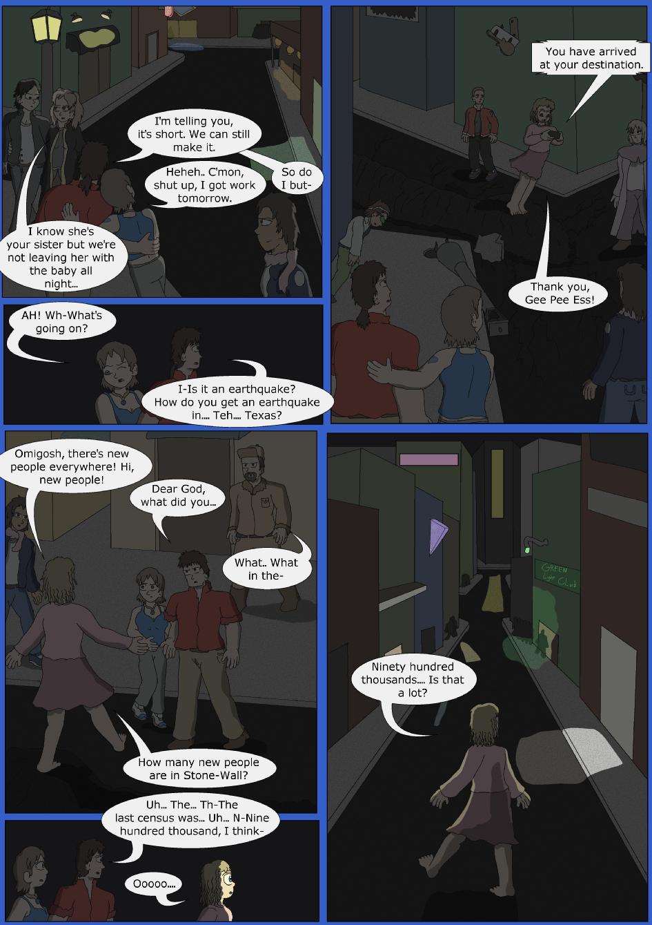 Stronger, Faster, Bluer, Page 8er