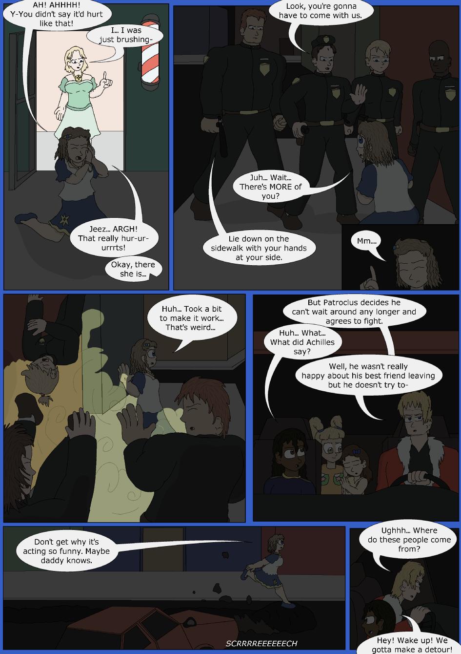 Stronger, Faster, Bluer, Page 13er