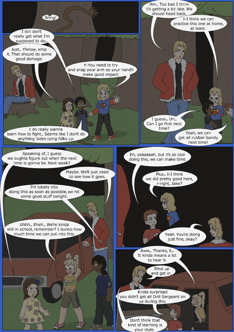 Stronger, Faster, Bluer, Page 12er
