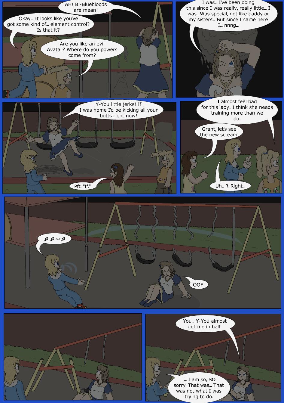 Stronger, Faster, Bluer, Page 18er