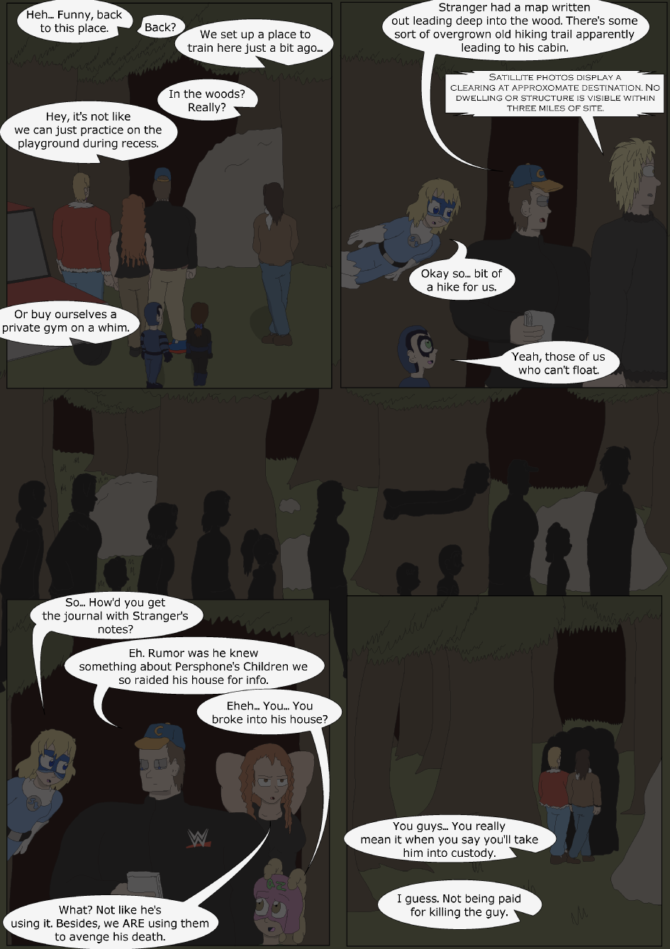 Blue vs. Green, Page 13