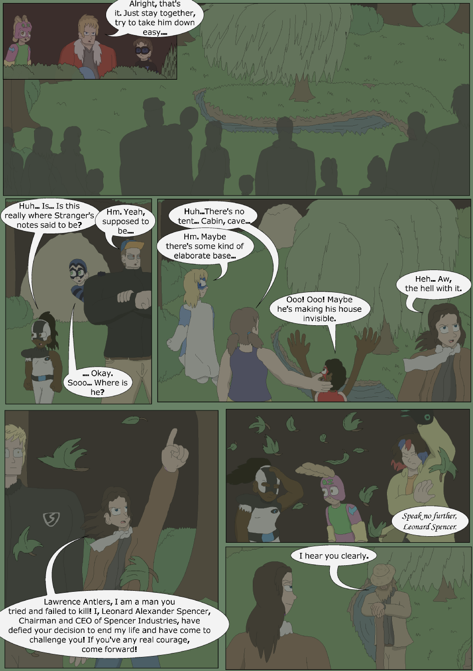 Blue vs. Green, Page 26