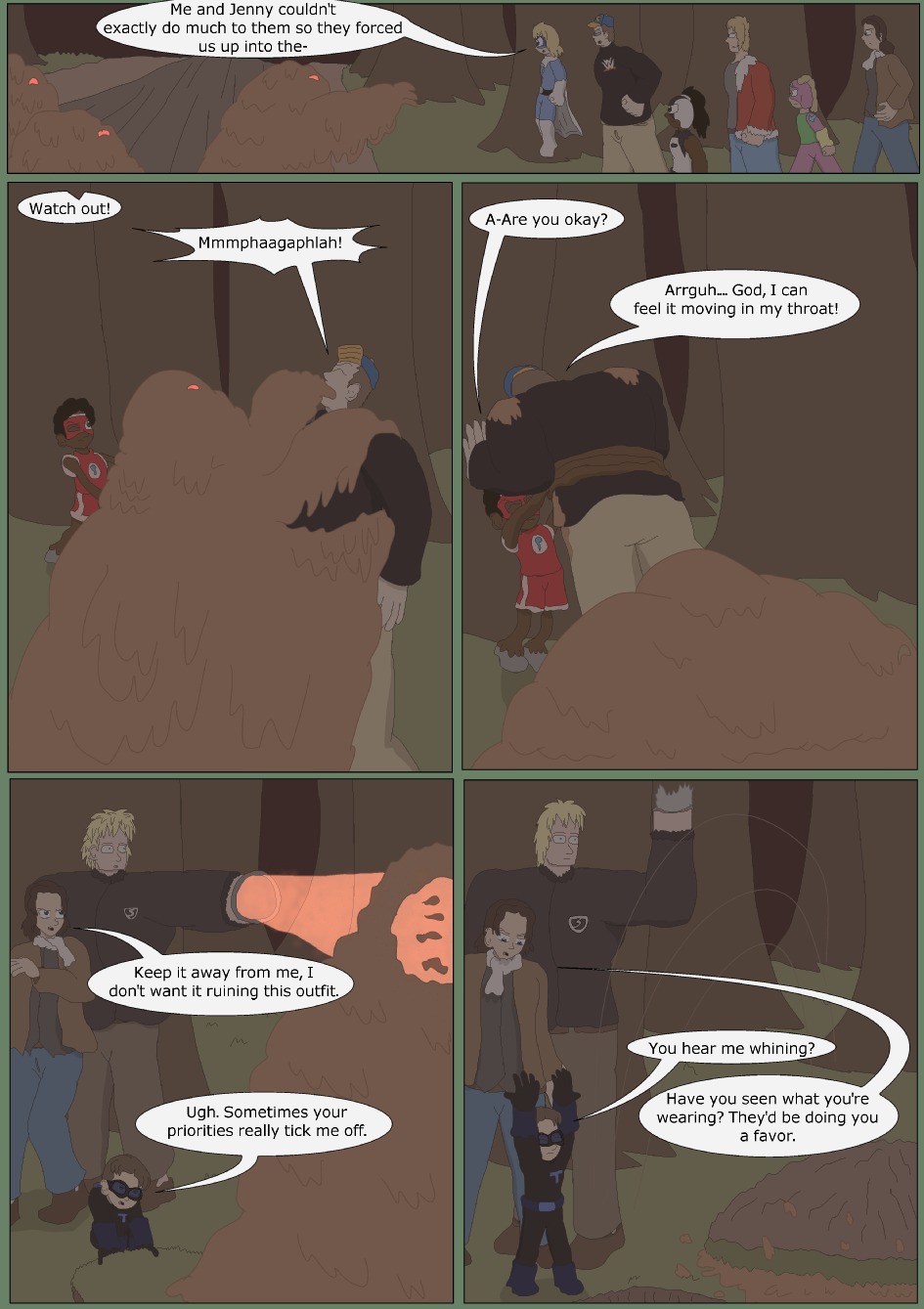 Blue vs. Green, Page 24