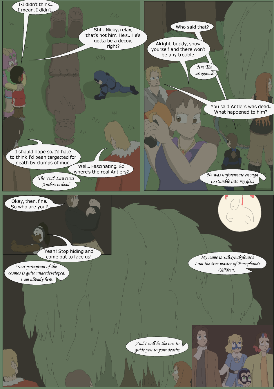 Blue vs. Green, Page 28