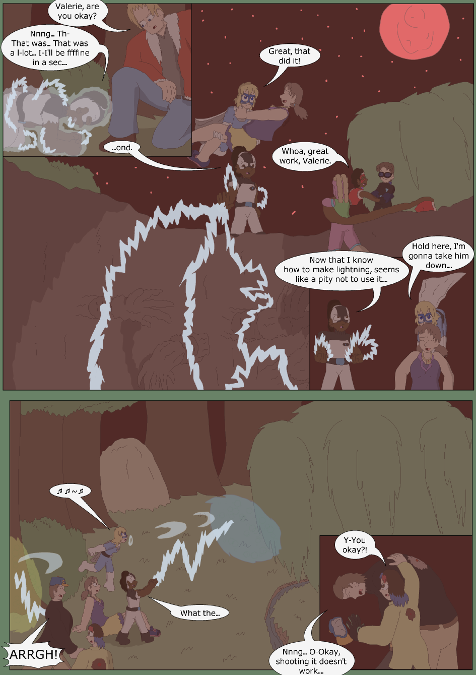 Blue vs. Green, Page 34