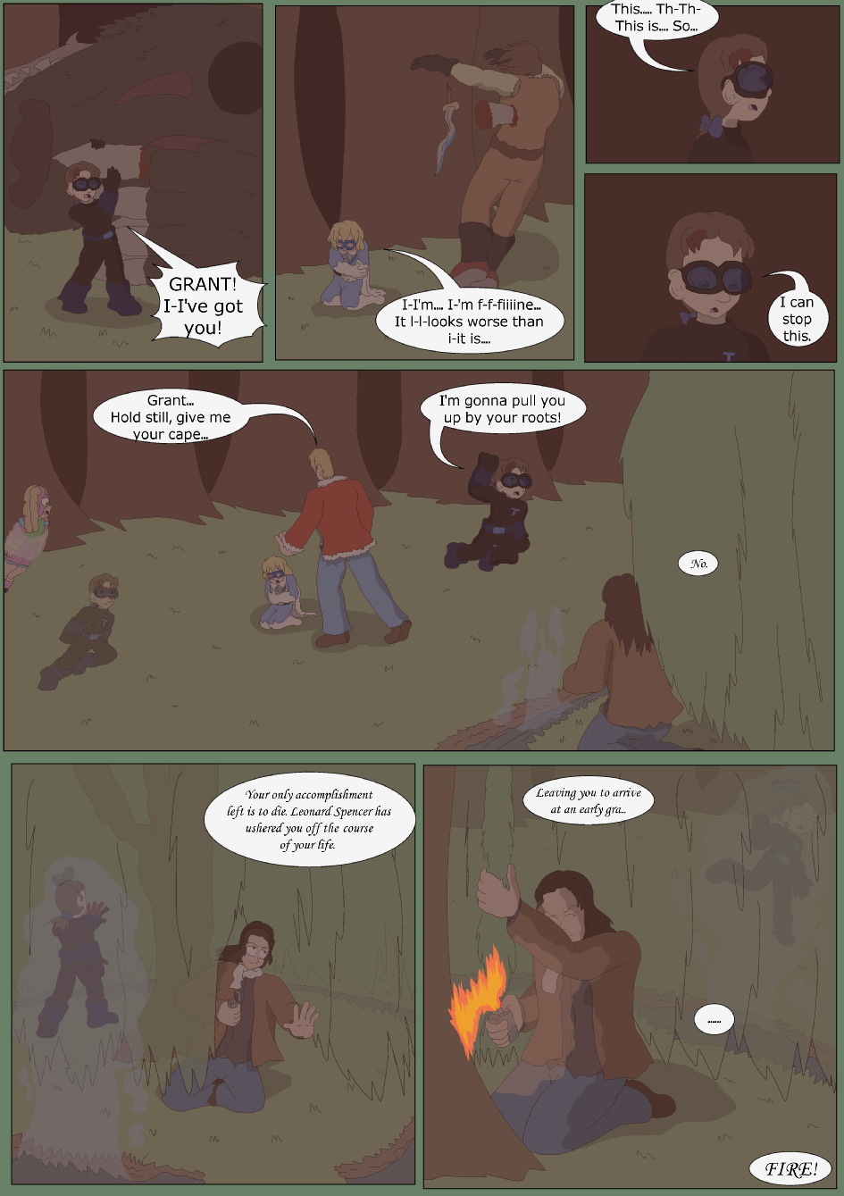 Blue vs. Green, Page 40